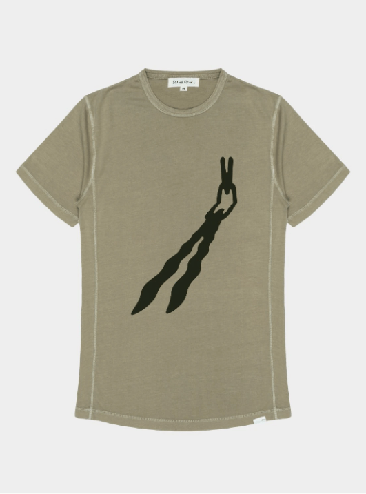 Perspective T-Shirt - Recycled Organic Cotton by So We Flow