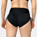 Polewear High Waist Shorts - Black Drawstring 'Noa' by Posto9