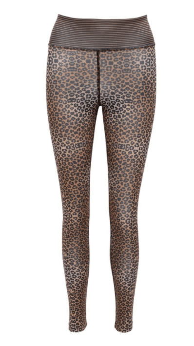 Cool For Cats Animal Print Eco Friendly Yoga Leggings by Blossom Yoga Ware