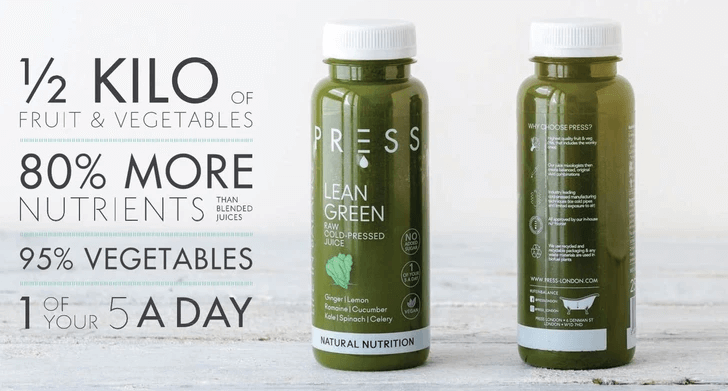Fill Your Fridge - 21 Cleansing Cold-Pressed Juices, Waters, Nut Milks and Chef-Prepared Soups by PRESS Health Foods