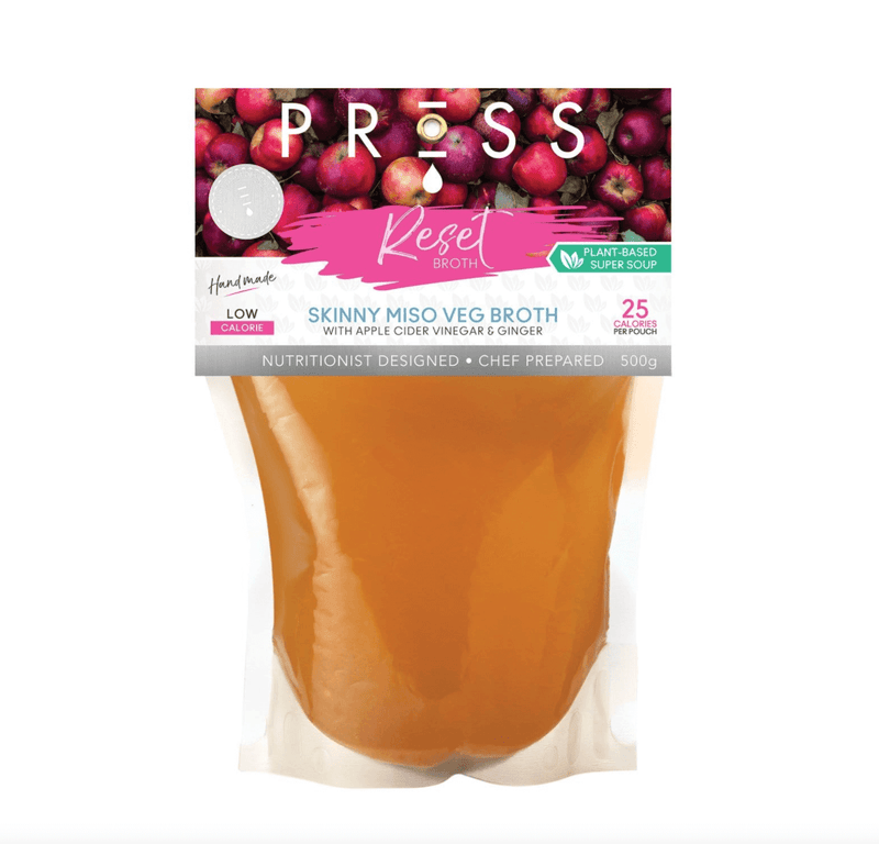 Fill Your Fridge - 14 Cleansing Cold-Pressed Juices, Waters and Chef-Prepared Soups by PRESSFill Your Fridge - 21 Cleansing Cold-Pressed Juices, Waters, Nut Milks and Chef-Prepared Soups by PRESS Health Foods