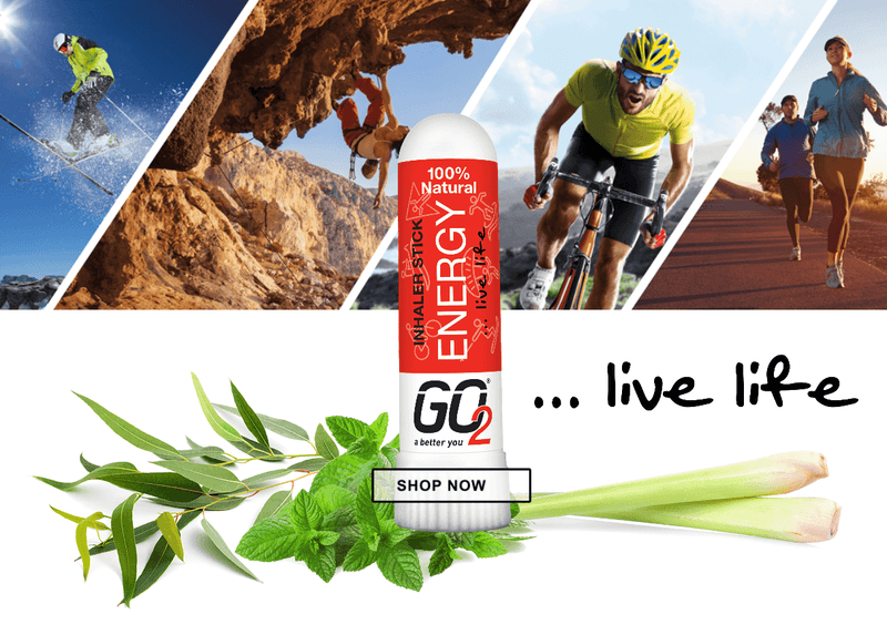 GO2 Energy 100% Natural Aromatherapy Inhaler