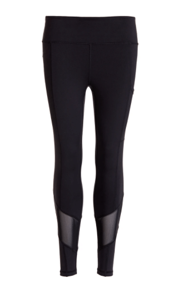 Black High Waisted Gym Leggings by Perky Peach