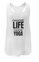 Choose Life Slouchy Eco Vest by Blossom Yoga Wear