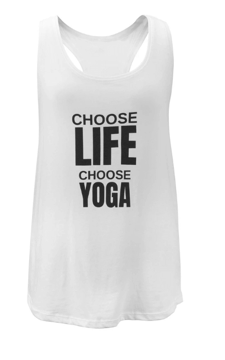 Choose Life Slouchy Eco Vest