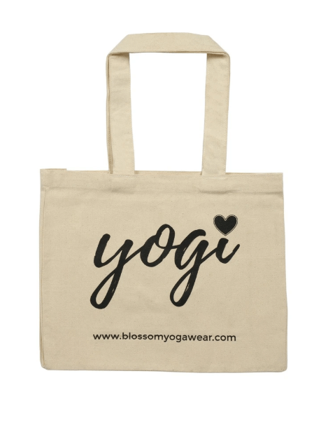 Yogi Organic Cotton Tote Bag