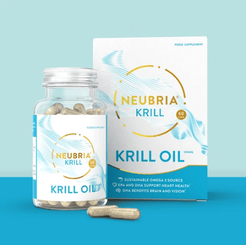 Neubria Krill - Pure Antarctic Krill Oil - A Superior Source Of Omega 3