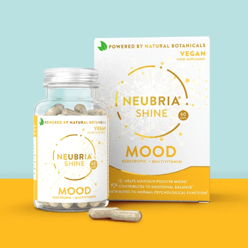 Neubria Shine - Advanced Health Supplement To Help Maintain A Positive Mood