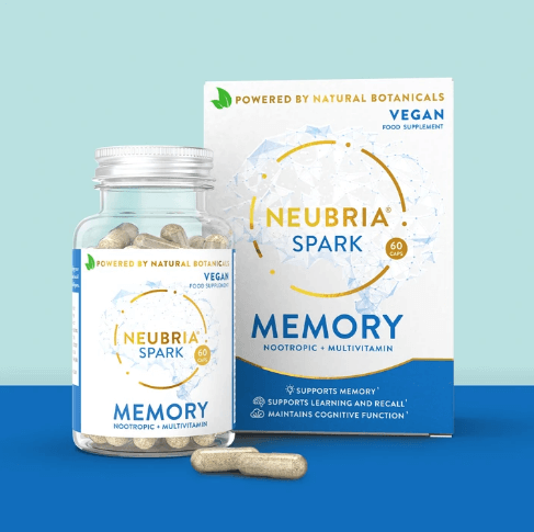 Neubria Spark - Advanced Health Supplement To Support Cognitive Function