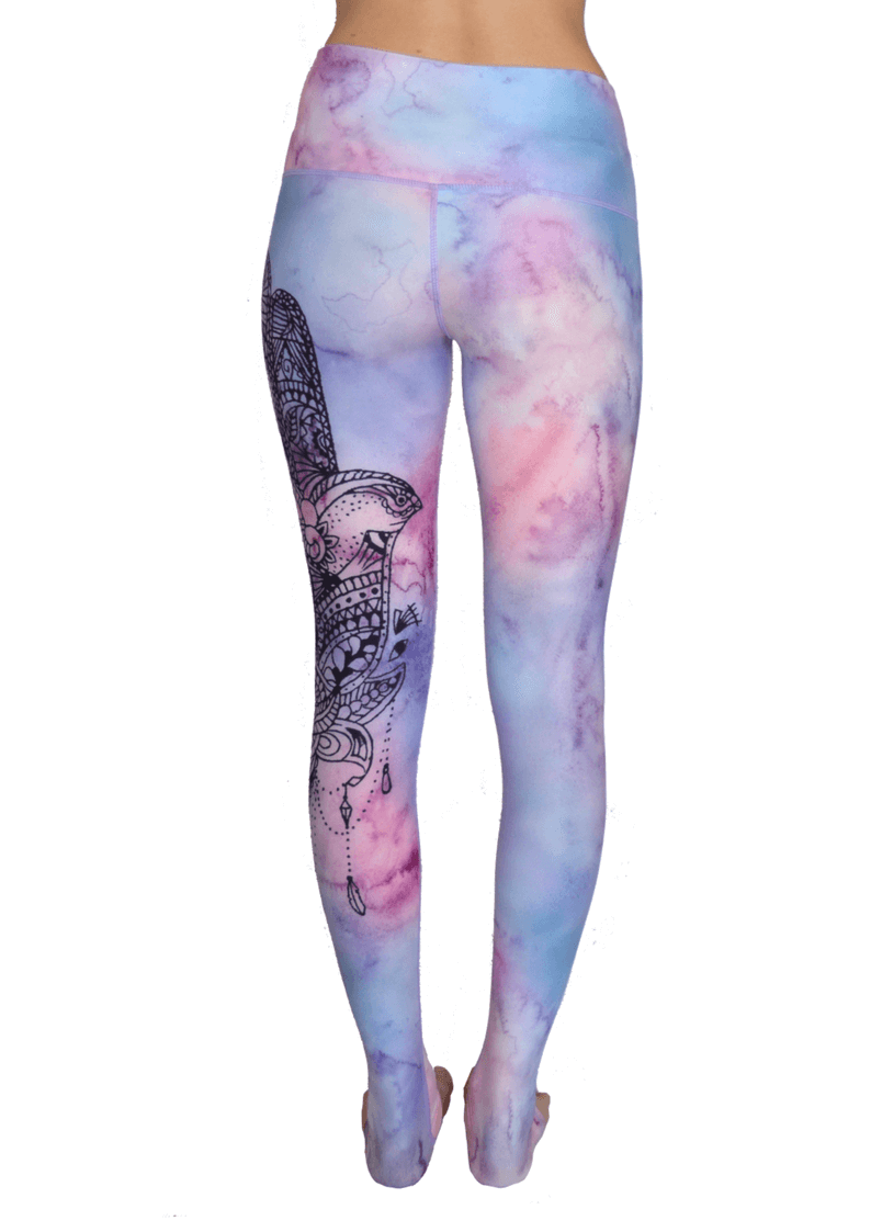 Sky is the Limit High Waisted Eco Leggings by Yogacycled at Life By Equipe