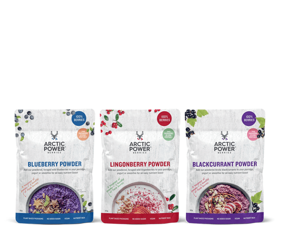 Pure Berry Powder Taster Pack - Arctic Power Berries Bundle 3x30g