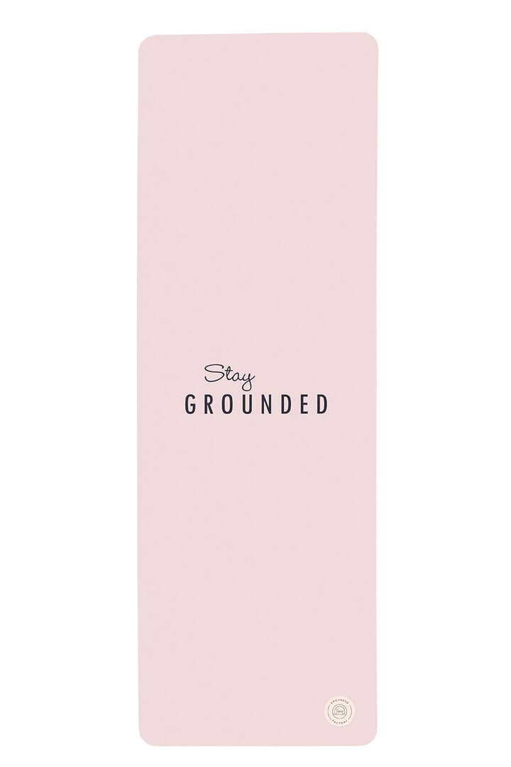 Stay Grounded Light Pink Travel Yoga Mat Grounded Factory Life By Equipe