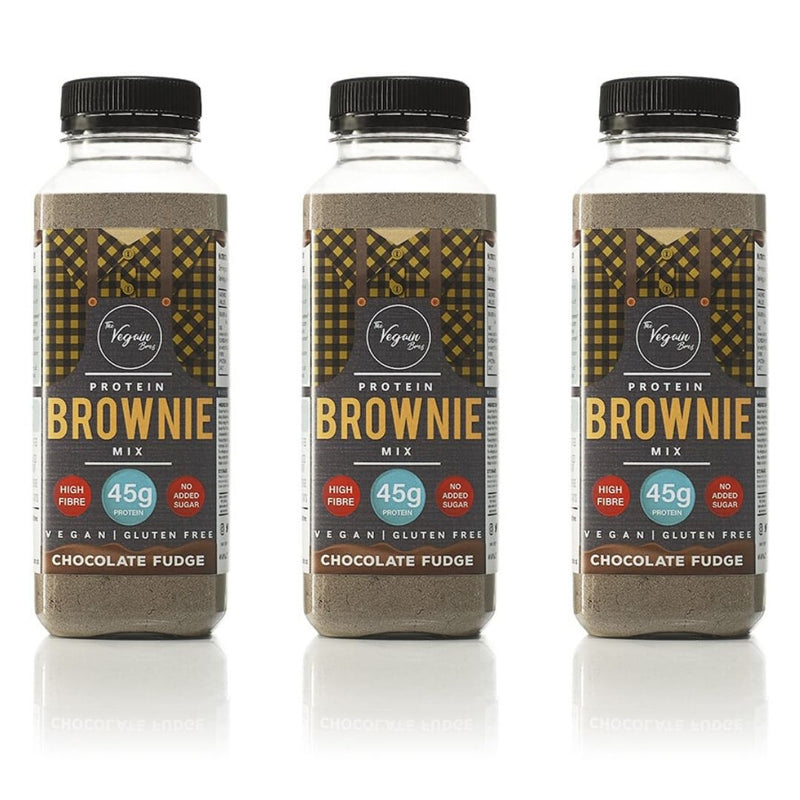 3x Chocolate Vegan Protein Brownie Mix Bundle