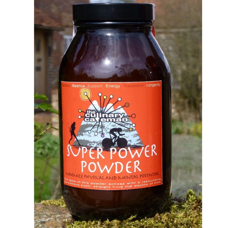 Super Power Powder Food Supplement to Support Pre-Exercise Energy & Support Mental Agility