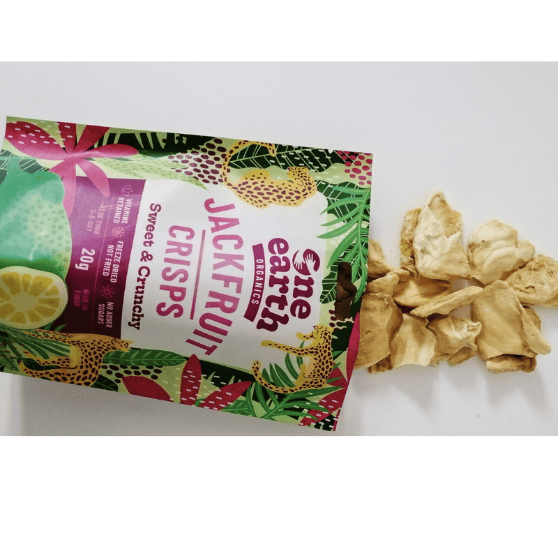 100% Organic Jackfruit Crisps Multipack by One Earth Organics