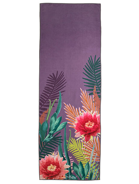 Tropicana Orchid Towel Topper