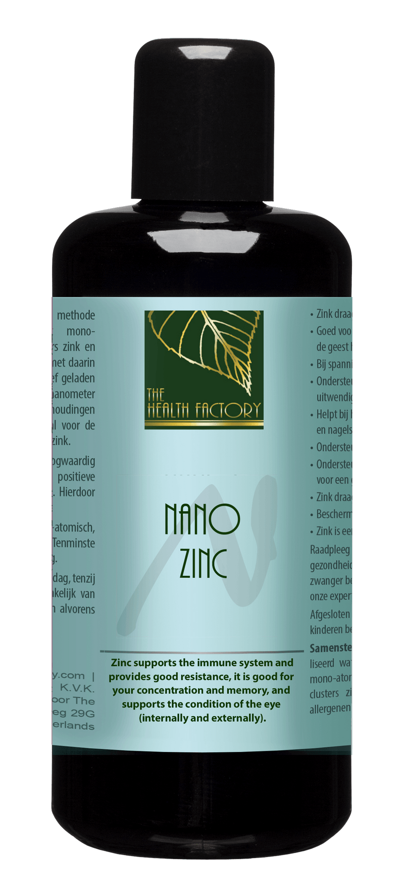 Nano Zinc Purified Mineral Water to Support Strengthening the Immune System, Growth & Skin Repair Internal & External Use