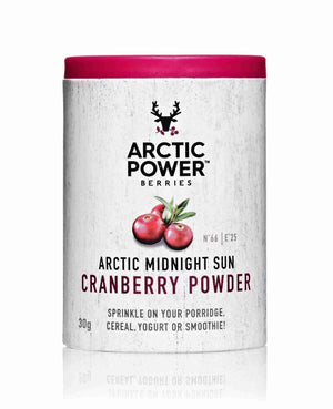 Arctic Power Berries 100% Pure Berry Powder Pure Cranberry Powder 30g