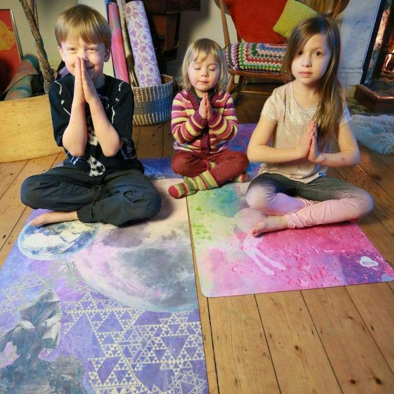 Bliss Warrior Kids Yoga Mat - BlissCloud , Mat  - Life By Equipe