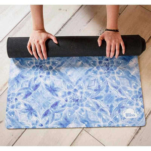 Bliss Cloud Mat Blue Lotus Yoga Mat - BlissCloud