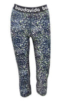 Zoom Cropped Spatter Leggings , Leggings  - Life By Equipe