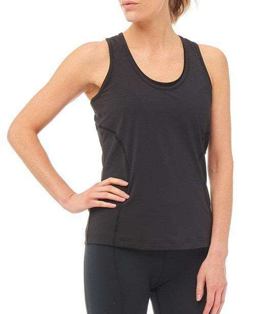 Dynamo Vest Top - Black , Tops  - Life By Equipe