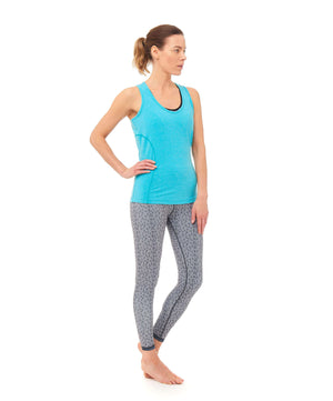 Dynamo Vest Top - Turquoise , Tops  - Life By Equipe