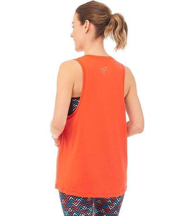 Pow Tank Top - Orange , Tops  - Life By Equipe