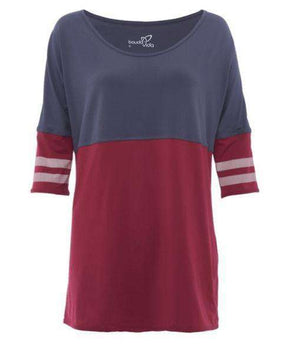 Swagger Tee - Plum , Tops  - Life By Equipe