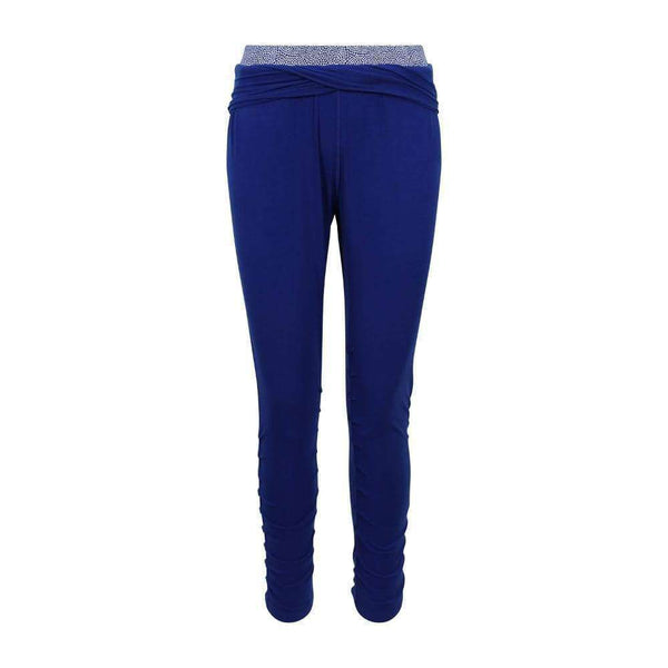 Covert Cool Crops Harem Pants in Blue , Bottoms  - Life By Equipe
