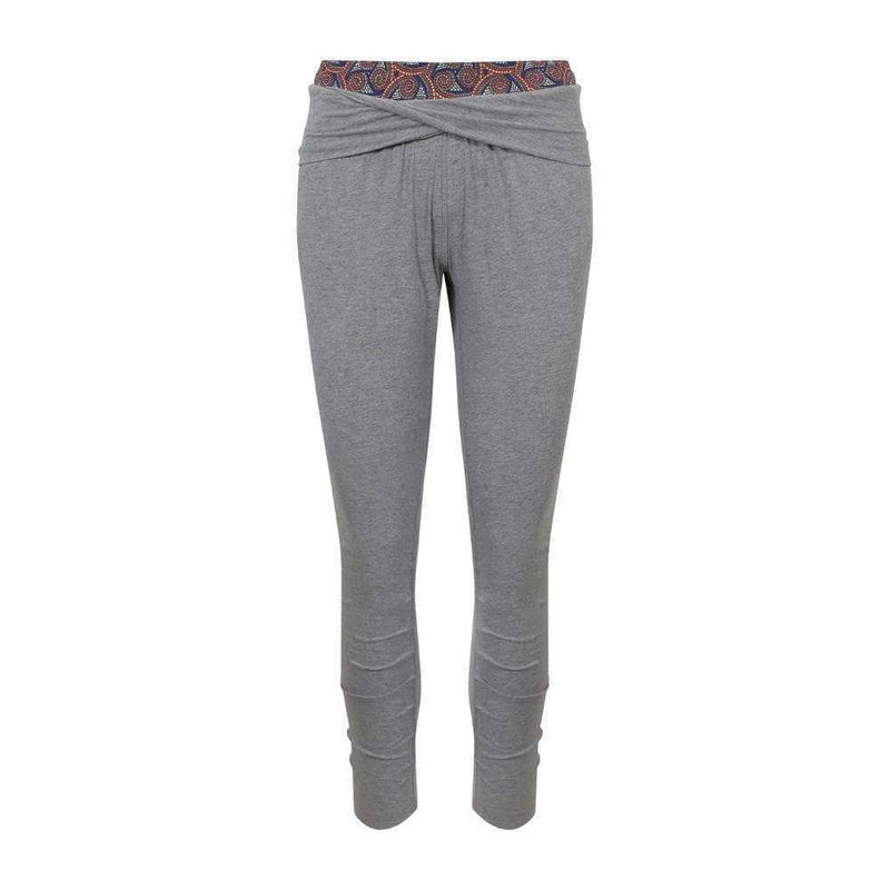 Hidden Heat Crops Harem Pants in Grey , Bottoms  - Life By Equipe