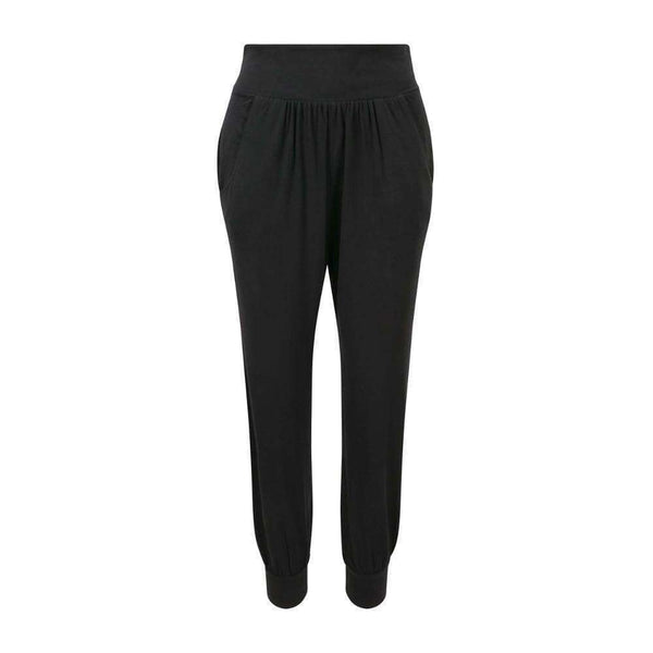 Pocket Play Harem Pants in Black , Bottoms  - Life By Equipe