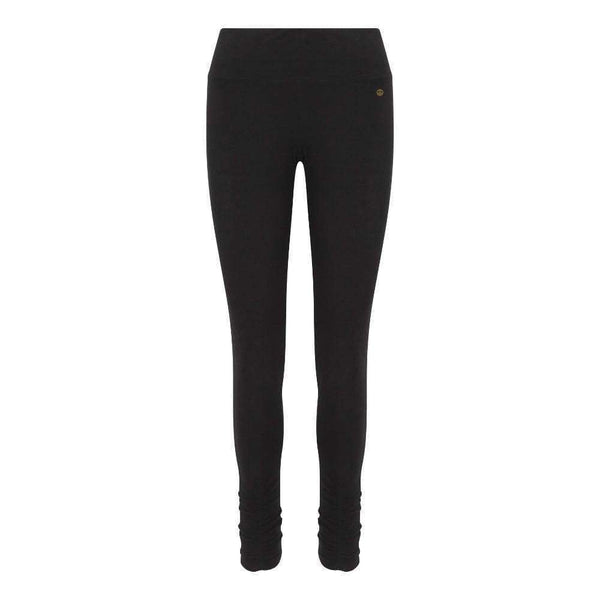 Ruched Bottom Leggings in Black , Leggings  - Life By Equipe