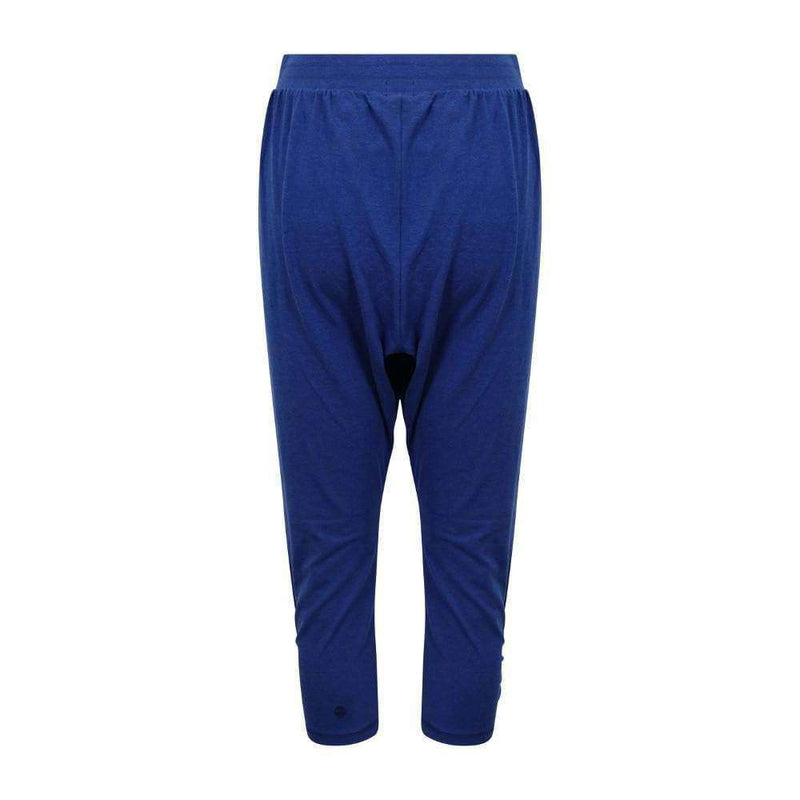 Baggy Fixation Harem Pants in Blue , Bottoms  - Life By Equipe