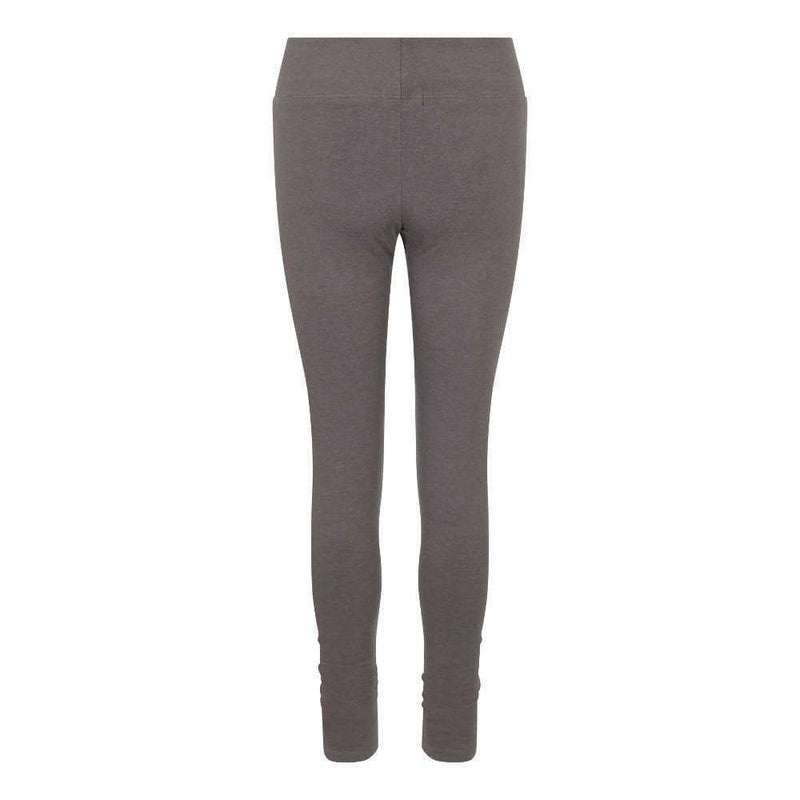 Ruched Bottom Leggings in Charcoal , Leggings  - Life By Equipe