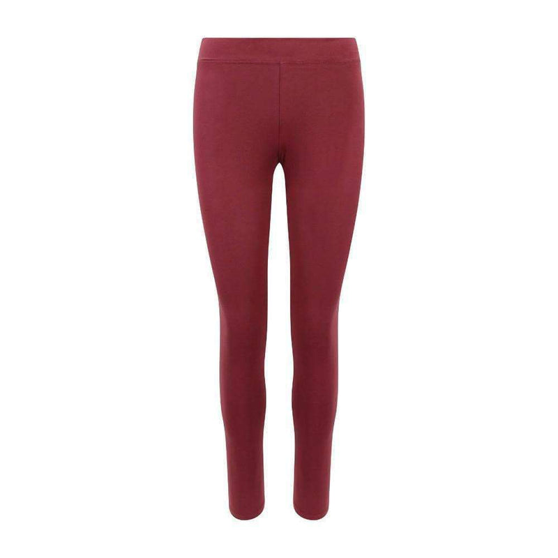 Classic Leggings in Maroon , Leggings  - Life By Equipe