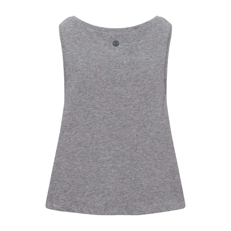 Log Off Yog On Grey Crop Top , Tops  - Life By Equipe