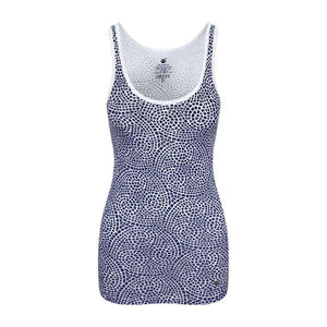 Chakra Energy Tank Top in Blue , Tops  - Life By Equipe