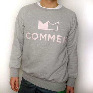 Commen Athletics Tops / Grey Big French Oversized Sweatshirt