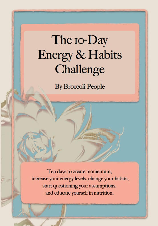 The 10 Day Energy & Habits Challenge Ebook - Guidance To Create New Healthy Habits & Track Progress