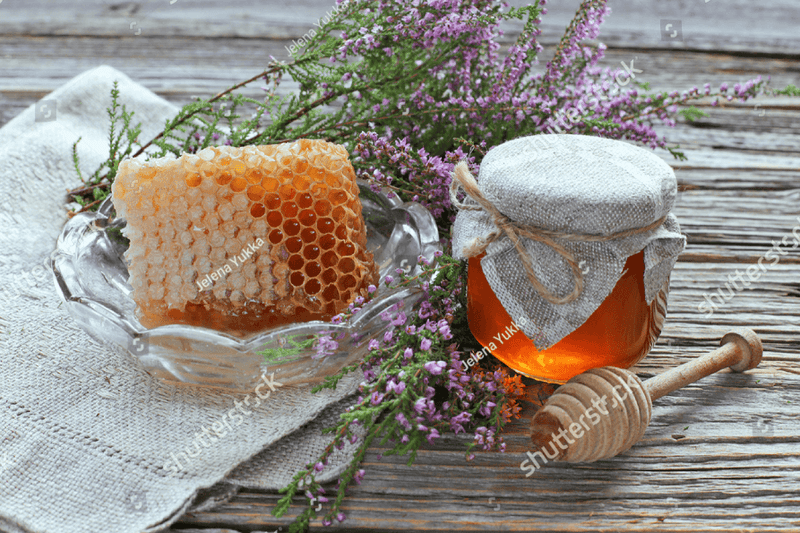 Natural Cut Comb Scottish Heather Honey 200g