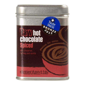 Raw Cacao Hot Chocolate Spiced - Elements For Life , Raw Chocolate Drink  - Life By Equipe