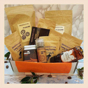 Raw Chocolate Explorers Gift Hamper - Elements For Life , Raw Chocolate Hamper  - Life By Equipe