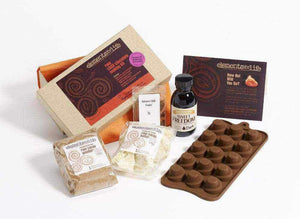 Elements For Life Raw Chocolate Kit Raw Chilli Chocolate Making Kit + Spiral Swirl Mould Raw Chilli Chocolate Making Kit - Elements For Life