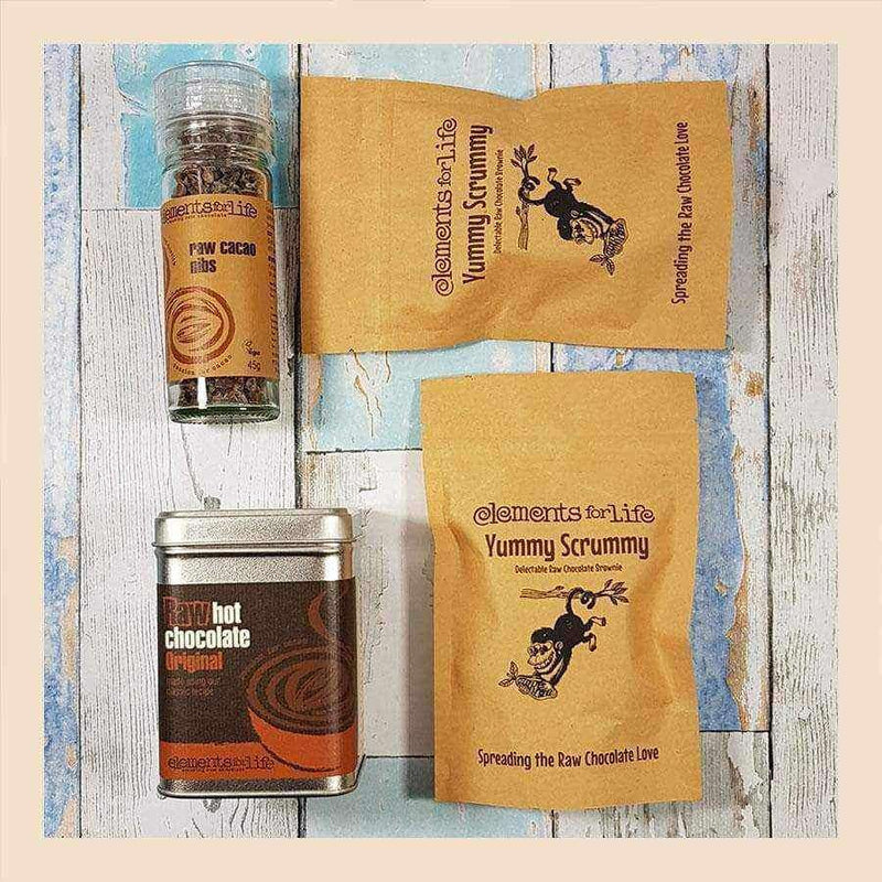 Raw Chocolate Taster Bag - Elements For Life , Raw Chocolate Kit  - Life By Equipe