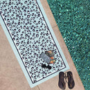 Grounded Factory Mat Leopard Mint Studio Yoga Mat - Grounded Factory