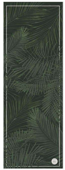 Palm Springs Black Travel Yoga Mat - Grounded Factory , Mat  - Life By Equipe
