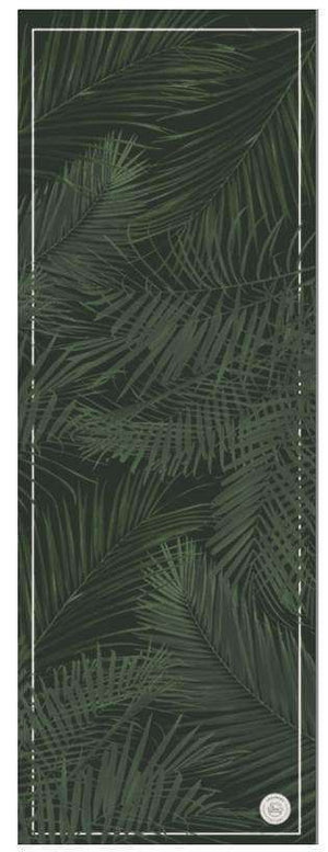 Grounded Factory Mat Palm Springs Black Travel Yoga Mat - Grounded Factory