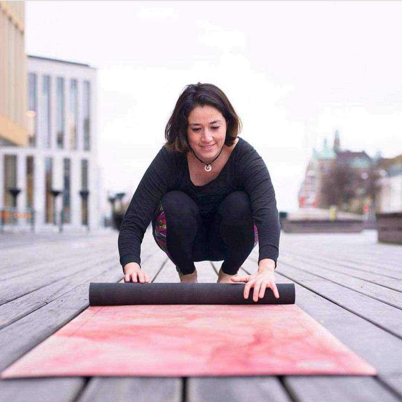 Stone Warm Pink Yoga Mat - Grounded Factory , Mat  - Life By Equipe