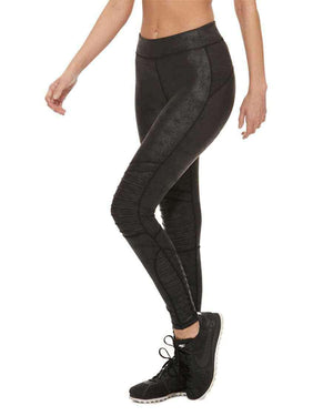 HPE Clothing Leggings XS / Bronze High-Waist Bronze Moto Leggings - HPE Clothing